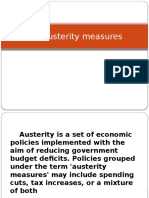 Pro Austerity Measures