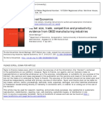 Market size, trade, competition and productivity- evidence from OECD manufacturing industries.pdf