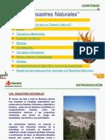 SEGURIDAD FUERA DEL TRABAJO-Desastres Naturales