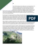 Tique Machu Picchu