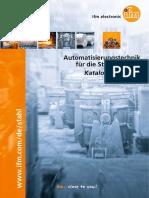 Automatisierungstechnik für die Stahlindustrie Katalog 2015/2016