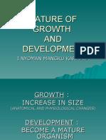 Nature of Growth & Development