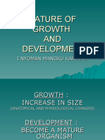 Nature of Growth & Development
