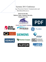 Power System Technical Program