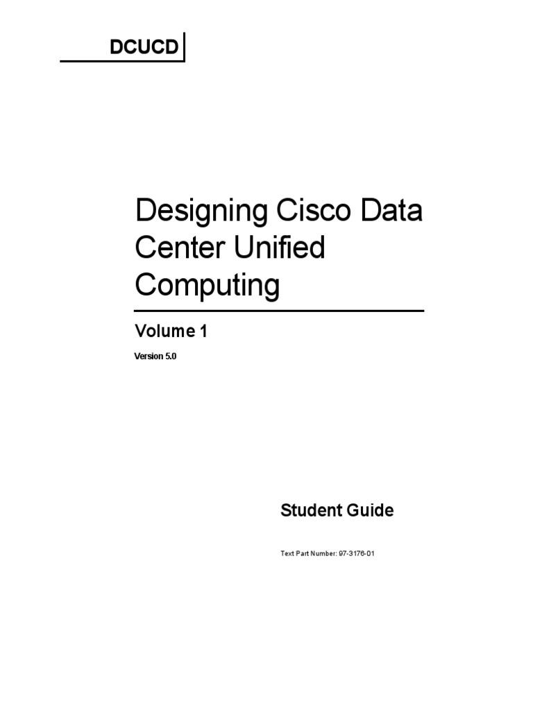 Dcucd50 Sg Vol1 | Data Center | Virtualization