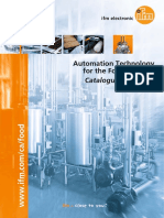 Automation Technology for the Food Industry Catalogue 2015/2016