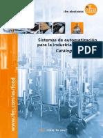 Sistemas de automatización para la industria alimentaria Catálogo 2015/2016