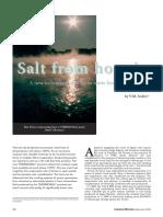 Salt From Hot Air - Aproveitamento de Vapor Com Baixa Pressão