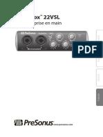AudioBox22VSL_QuickStart_FR1
