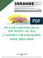Plano Ed Mun Campo Grande MS