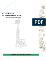 Manual Condutor Empilhador