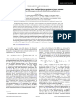 Unphysical Solutions of the Kadanoff-Baym Equations in Linear Response