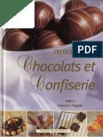 Chocolats Et Confisserie -Tome 1 - Ecole Lenotre