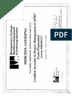 Merceda Gooding Project Management / CAPM