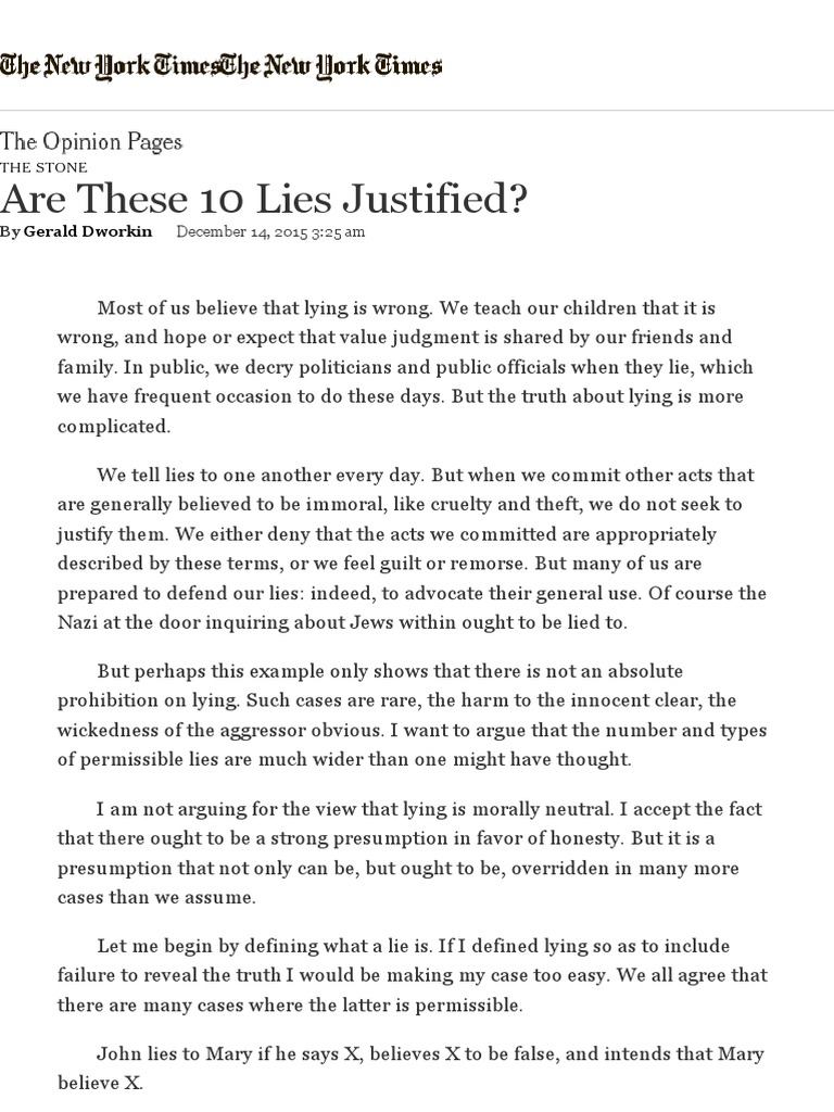 Sat essay on lying how to write a teacher introduction letter to parents