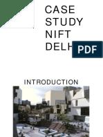Nift Delhi Case Study