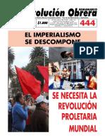 Semanario Revolución Obrera Edición No. 444