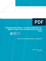 Explicaciones Anexo Tecnico 2015
