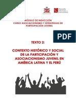 Contexto Historico Social Participacion Asociacionismo America Latina Peru