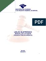 Manual Leilão RF