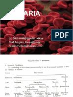 DWI - Protozoologi_ Sporozoa (Malaria I Dan II)