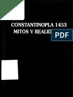 Constantinopla, Principio y Fin-pérez Martín