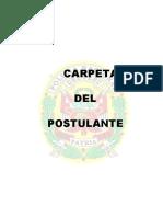 Carpeta de Postulante a La Asimilacion -Pnp 2016.Pd