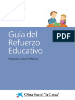 CaixaProinfancia Guia Refuerzo Educativo Es