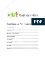 Diy Business Plan Template