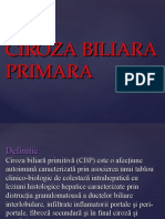 Ciroza Biliara Primara
