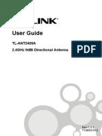Tl-Ant2409a v1 User Guide 7106