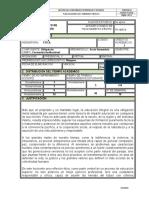 Plan de Clase, Ética 2016-1