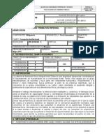 Henri Didón, Plan de Asignatura 2016-1