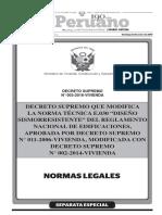 Norma Técnica E.030 - 2016