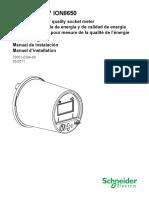ION-8650 Manual de Instalacion