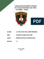 Escuela de Educación Superior Técnico Profesional Policia Nacional Del Peru Locumba