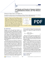 Solubility of N2O in and Density and Viscosity of Aqueous Solutions of Butan4
