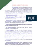 Paginas Web de Consulta e Informacion