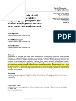 An Empirical Study of Self-perceived Employability_ Improving the Prospects for Student Employment Success in an Uncertain Environment