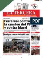 Diario La Tercera 26.01.2016