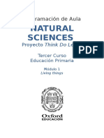 Programación Natural Sciences 3 - Module 1 Units 1-3