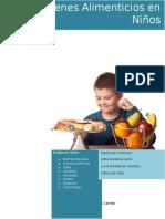 Desórdenes Alimenticios en Niños