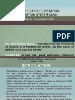 IEC 61850 Based Substation Automation System (SAS)- PPT 1
