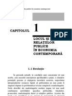 Locul si rolul relatiilor publice in economia contemporana