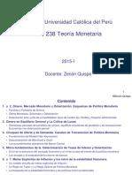 Teoria Monetaria PUCP2015I