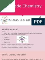 5th grade chemistry