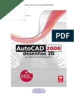 Caderno de Exercícios AutoCAD 2008 2D