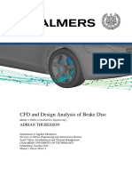 Brake CFD Validation