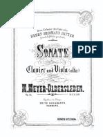 Meyer O. viola sonata