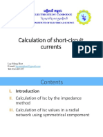 1 Introduction of Calculation Short Circuit